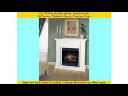 Electric Fireplace Suite Top 10 Most Popular Electric Fireplace Suite Youtube