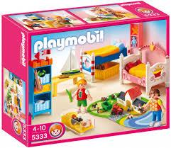 playmobil cuisine 5329 playmobil dollhouse 5333 pas cher chambre des enfants avec lits