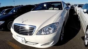 mercedes auctions 2007 mercedes s550l 60k lhd japanese car auctions auto