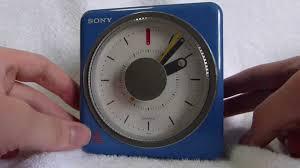 sony clock radio manual sony icf a10w fm am clock radio made in japan circa 1980 youtube