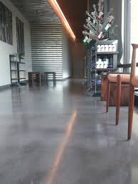Home Interior Materials Interior Concrete Floors In Home With Glorious Polished Concrete