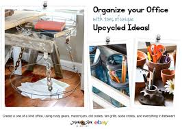 Upcycled Ideas - organize your office with these unique upcycled ideas ebay
