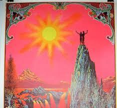 large black light posters black light poster vintage sunset marketing garden of eden