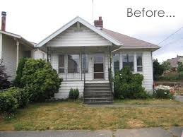 house renovation before and after before after an exterior renovation in seattle apartment