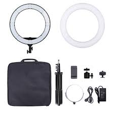 lighting for makeup artists professional makeup lighting18 inch 55w dimmable led ring light
