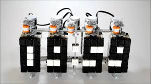 Coolest Clocks by Time Twister Lego Mindstorms Digital Clock Youtube