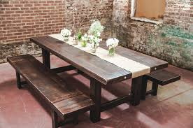 stylish rustic farmhouse dining tables for home decor plan with
