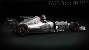 peugeot car one peugeot joining f1 could be a little something like this