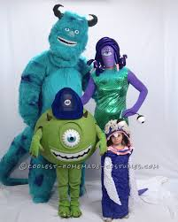coolest homemade sully costumes