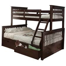 Bunk Beds Espresso Bunk Beds For Adults Bunk Beds Solid Wood Furniture For