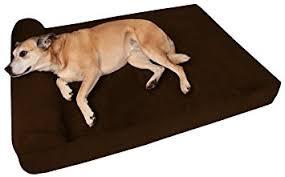 pillow top dog bed amazon com big barker 7 inch pillow top orthopedic large 48 x 30