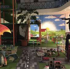 Deco Salle De Jeux Fresque Centre De Loisirs Enfants Pour Entreprise De Salle De Jeux