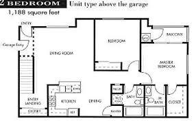 garage apartment floor plans 3 car garage the seville apts