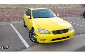 2001 lexus is300 yellow is300 steering knuckle rca hysteer ii drift spec