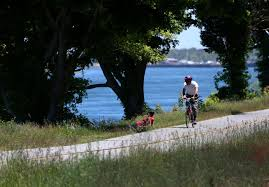 seeing the canal by bike path engineered to please the boston globe
