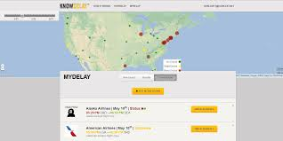 Alaska Airlines Destinations Map by Knowdelay Com Predicts Flight Problems 3 Days In Advance Nbc News