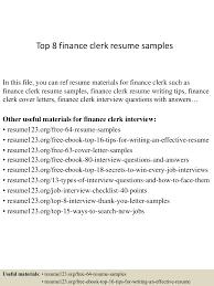 resume sample finance finance clerk sample resume audio visual specialist sample resume gate01 thumbnail 4jpg cb 1428657609 top8financeclerkresumesamples 150410041916 conversion gate01 thumbnail 4 top 8 finance clerk resume samples