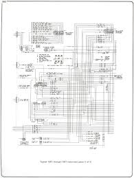 complete 7387 wiring diagrams chevy truck underhood wiring
