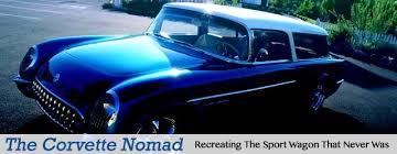 1953 corvette wagon recreating the corvette sport wagon that never was