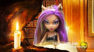 Monster High Halloween Wolf Doll by Mh Clawdeen Wolf In The Spell Of The Full Moon Part 1 Monster