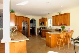 how to carry out the kitchen remodel for split level home 2342