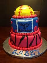 cool softball cake ideas 7262