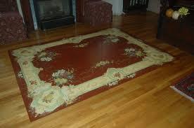 Rug Painting Ideas Stunning Painting Wood Floors That Enhance Fresh Interior Nuance