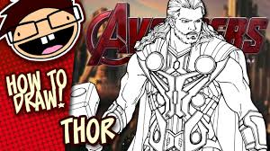 drawn thor drawing spiderman pencil and in color drawn thor