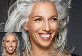 transitioning to gray hair with lowlights 7 gorgeous gray hair makeovers