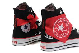 black friday converse sale all star black chunk high red scarf canvas shoes converse sale