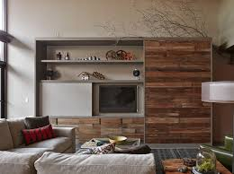 hide away bed industrial living room lisa schmitz internal design