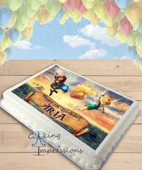tinkerbell pirate fairy edible image sheet cake topper
