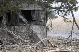 Pop Up Hunting Blinds Hunting Ethics Take Your Territorial Pop Up Blind And Go Home