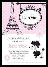 parisian baby shower baby shower invitations 1819 also princess tutu baby shower