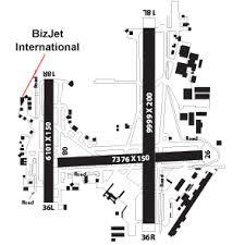 tulsa airport map bizjet international ktul tulsa ok uvair fbo
