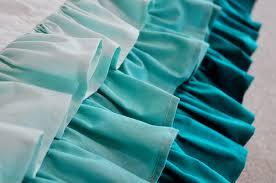 emmmylizzzy ruffled waterfall crib skirt