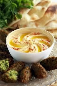 cuisine libanaise houmous houmous falafels aux petits pois et pita libanais cuisine