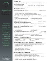 Best Font For Scannable Resume by Plain Text Resume Template