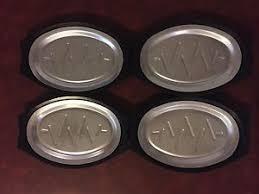 sizzle plates 4 x vintage nordic ware servo king steak sizzle plates fajita