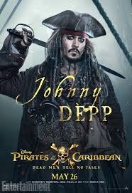 pirates caribbean 5 character posters ew