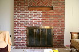 studio yuko jones brick fireplace makeover