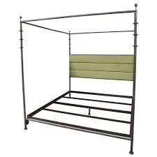 diego giacometti style kingsize wrought iron bed at 1stdibs