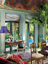 moroccan style living room line house