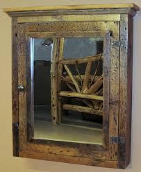 medicine cabinet terrific rustic medicine cabinet with mirror