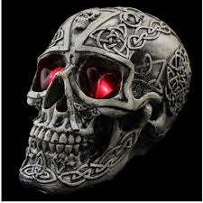 buy decoration creative terror props resin skull