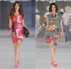 desigual designer desigual 2014 summer womens runway denim fashion
