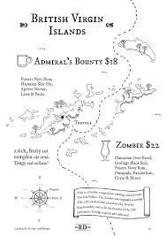 cocktail drawing cocktail menu u2014 the rum diary