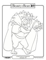 fun stuff disney u0027s beauty beast coloring pages carrie