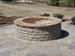 home design backyard brick fire pit ideas beach style compact