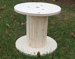 Wire Spool Table Wire Spool Table
